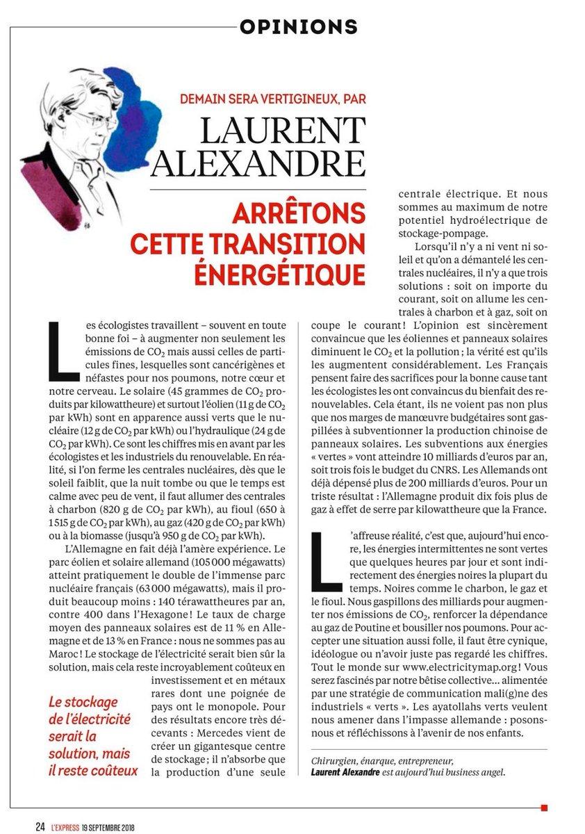 L'Express 18 septembre 2018