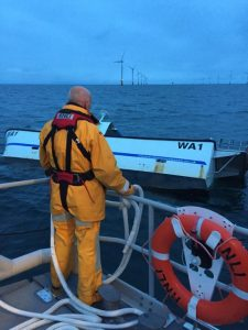 Barrow RNLI launch to sinking fishing vessel