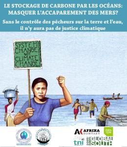 2015 Décembre Stockage du Carbone par les océans Accaparement des mers réunions communautés des pêcheurs WFFP