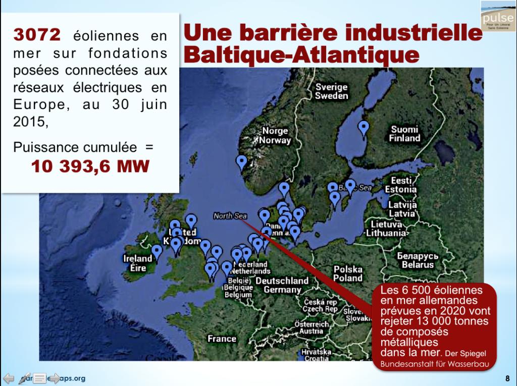 Eolien offshore Europe