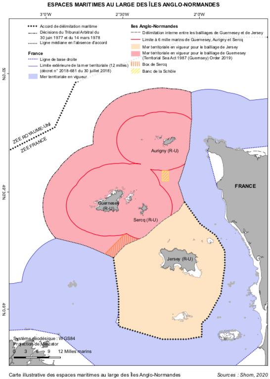 Limites des eaux des îles anglo-normandes