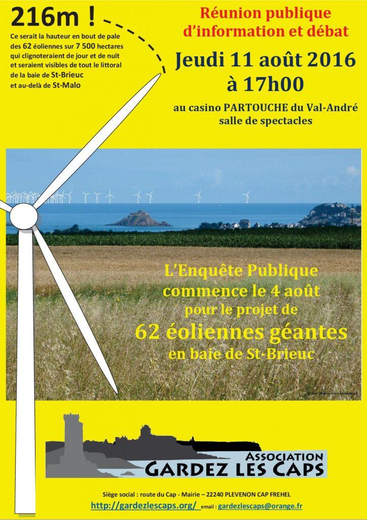 Gardez les Caps - Réunion 11 aout 2016