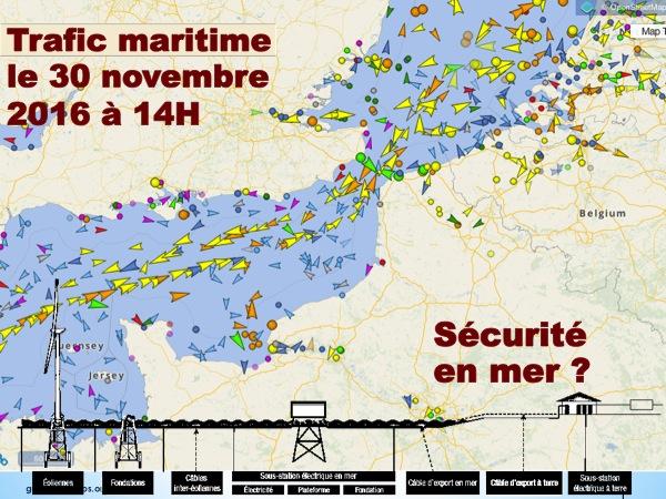 Trafic maritime en temps réel
