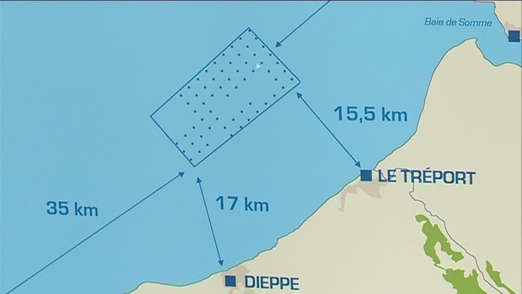 Projet éolien Dieppe-Le Tréport