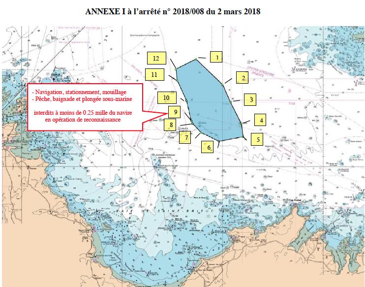 Annexe I à l'arrêté du 2 mars 2018