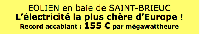St-Brieuc 155€ : MWh